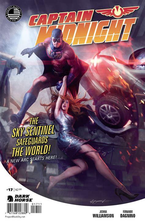 Captain Midnight #17 :: Profile :: Dark Horse Comics