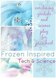 Frozen Themed Science Technology Ideas For Kids