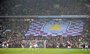 aston villa  campaign  safe standing daily mail