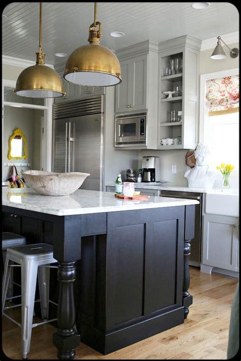 brass kitchen lights amazing kitchen brass lights marble counters planked 1777