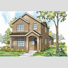 Contemporary House Plans  Rock Creek Ii 30820