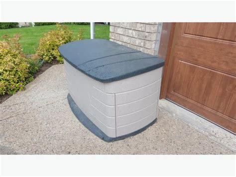 plastic outdoor storage bin by rubbermaid east regina regina