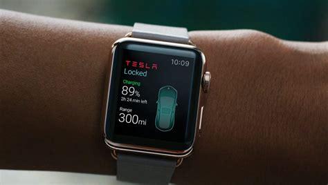 Get Tesla 3 Apple Watch Pics