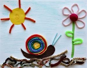 Bastelideen Sommer Kindergarten : basteln mit kindern 44 bastelideen welche gro und klein froh machen ~ Frokenaadalensverden.com Haus und Dekorationen