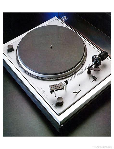 Vieta G-5100 Semi Automatic Turntable Manual   Vinyl Engine