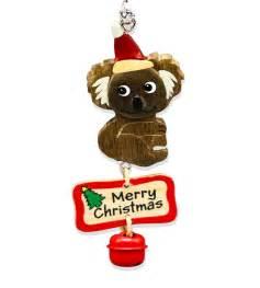 Koala Bell Christmas Decoration   Australia The Gift   Souvenirs   T Shirts   Gifts   Aboriginal