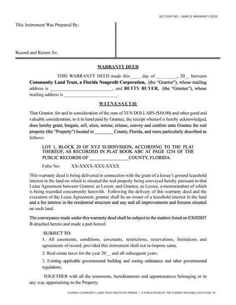 texas property deed form 40 warranty deed templates forms general special