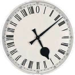 roman numeral clock hourtimeinfo
