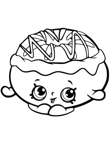 chrissy cream shopkin coloring page  printable coloring pages