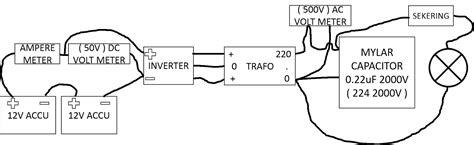 membuat inverter 12vdc ke 220vac murah sederhana isnan