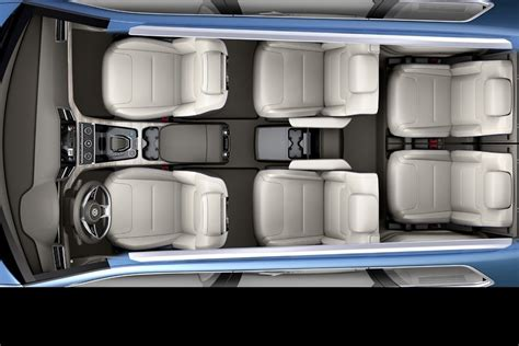 volkswagen crossblue  seater suv concept