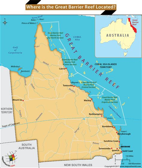 Where Is The Great Barrier Reef Located? Answers