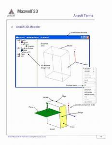 Ansoft Maxwell 3d V11 User Guide