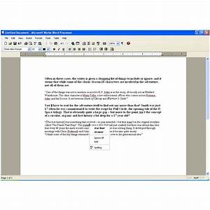 Microsoft works word processor screenplay template pegnue for Free microsoft works word processor