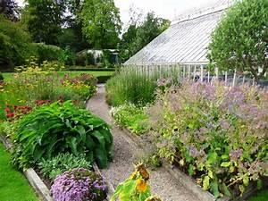 Herb, Garden, In, Farmleigh, House, Walled, Garden, U2013, Tim, Austen, Garden, Designs