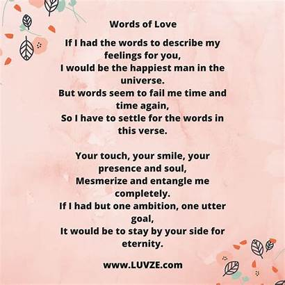 Poems Romantic Words Heart Girlfriend Quotes Poem