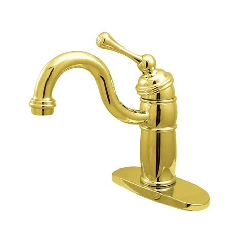 kingston brass faucets made in usa faucet kb1482bl in polished brass by kingston brass