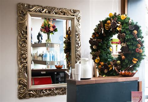 business   decorate  hairdressing  christmas