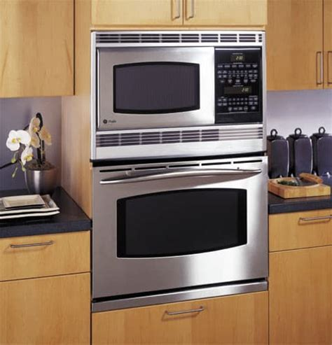 ge jtskss   combination microwave double wall oven  preciseair convection system