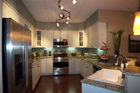 low profile kitchen lighting low profile track lighting that will give sophistication 7199