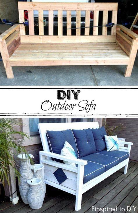 diy outdoor sofa  woodworking plans diy furniture