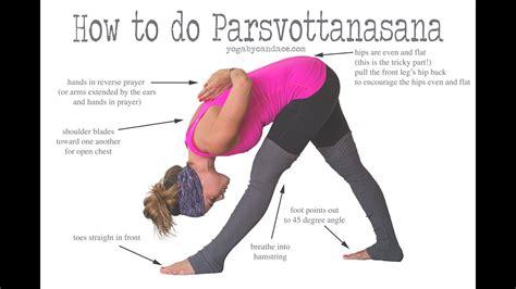 How To Do Parsvottanasana Youtube