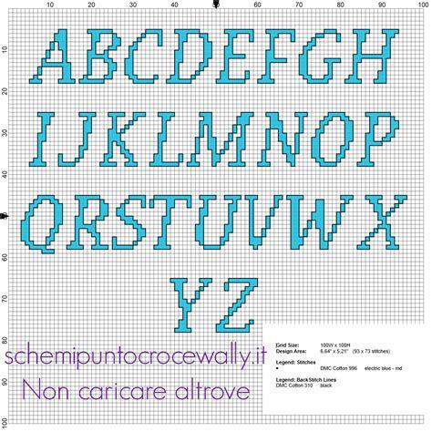 lettere a punto croce per bavaglini lettere alfabeto punto croce per bavaglini 28 images