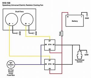 12 Volt Electric Fan Switch