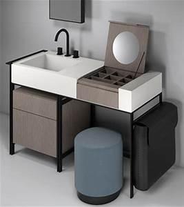 Coiffeuse Salle De Bain : tendance 2016 la coiffeuse au point d 39 eau styles de bain ~ Teatrodelosmanantiales.com Idées de Décoration
