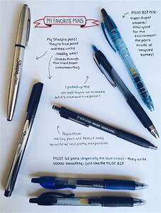 a guide to good note taking pens http cw0630tumblr With good lettering pens