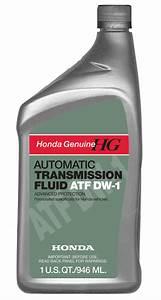 Honda Atf Dw-1 Automatic Transmission Fluid
