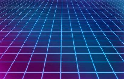 Grid Neon Wallpapers Aesthetic Background Perspective 80