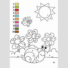 Color By Number On Pinterest  Color By Numbers, Coloring Pages And Worksheets