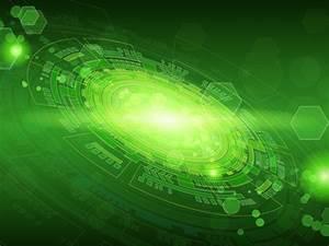 Vector - Green Technology Background