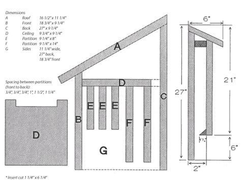 bat house plans  nowadays