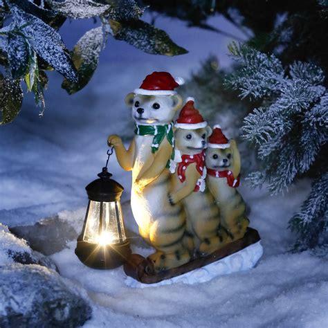 Weihnachtsdeko Garten Solar solar weihnachts erdm 228 nnchen g 228 rtner p 246 tschke