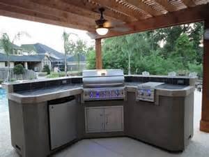 kitchen island designs plans barbacoas de obra y cocinas exteriores