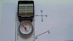 How To Orient A Map And Take A Bearing With A Compass