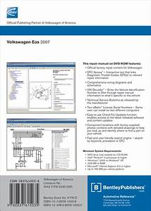Back Cover - Volkswagen Eos 2007  2008  2009 Repair Manual On Dvd-rom