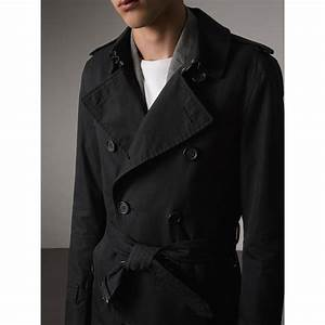 Trench Coat Burberry Homme : the sandringham long heritage trench coat in black men burberry ~ Melissatoandfro.com Idées de Décoration