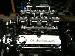 All Aluminum Stack Fuel Injected Ford 427ci 351 Windsor