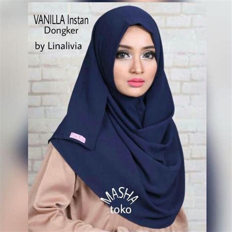 Pashmina Instan pashmina instan kafidza two plain salem jilbab cantik