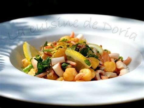 cuisine doria recettes de salade de poulpe de la cuisine de doria