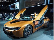 BMW i8 Roadster Stars in First Videos Since Its Launch
