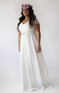 simple wedding dress plus size pluslookeu collection With simple wedding dresses plus size