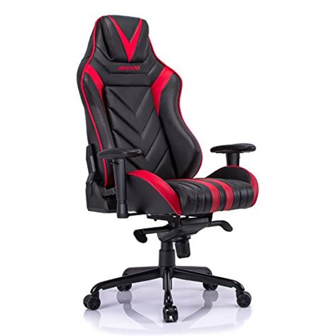 aminiture high back racing gaming chair recliner pu