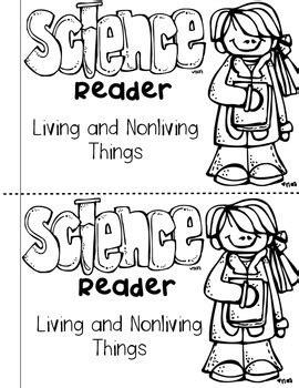 science activities  kindergarten living  nonliving