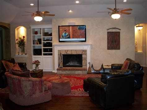 tv above fireplace where to put components custom remodel tv above fireplace w custom built in