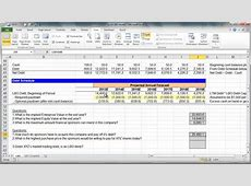 Financial Modeling Quick Lesson Simple LBO Model 3 of 3