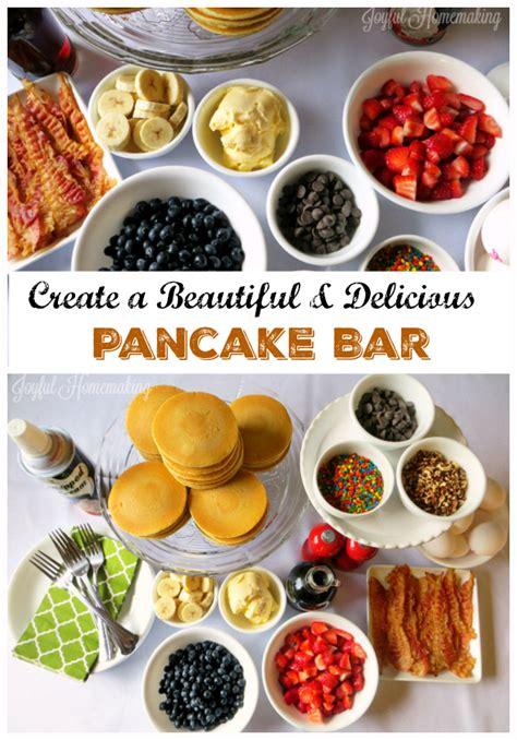Pancake Breakfast Bar Ideas